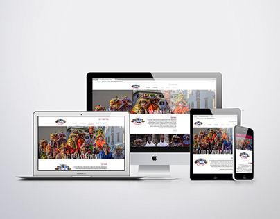 Website for Cultural Manifestation