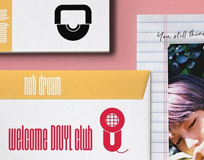 nct dream pictogram design