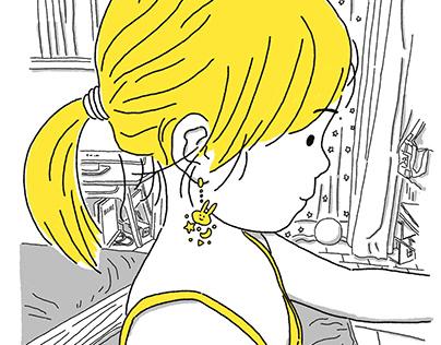 Imagined earrings
