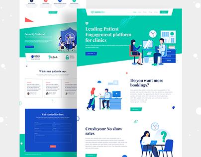 Healthcare Website UI Design