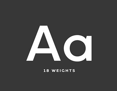 Arkibal Sans - Typeface
