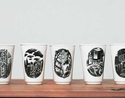 Airborne Ape cups