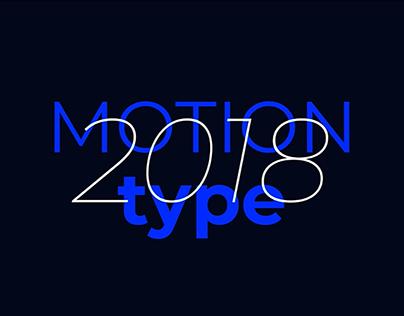 Motion Type 2018