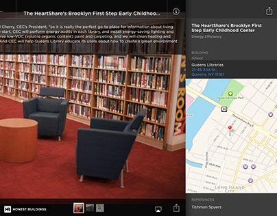iPad Sales Tool App for Honest Buildings