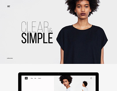 Clear&simple, online store