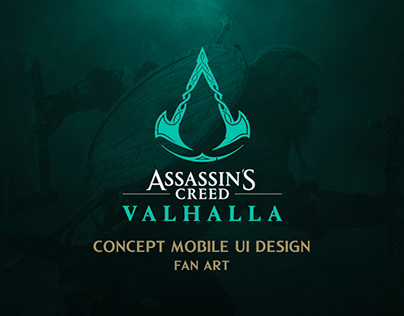 ASSASSIN'S CREED VALHALLA CONCEPT UI