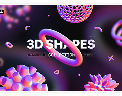 3D Shapes,Graphics collection
