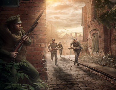 Military art - the first world war [reconstruction]