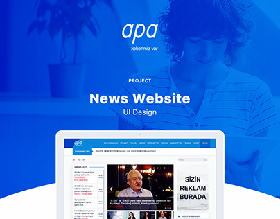 apa.az - news website design