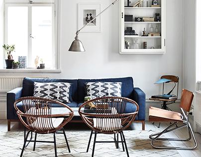 Elle Decoration - Kalle Gustafsson in Stockholm