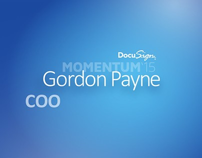 Docusign Event Visual Style and Slides
