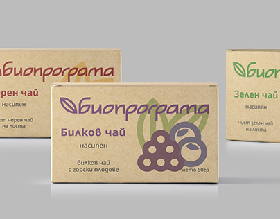 BIOPROGRAMA Tea Package