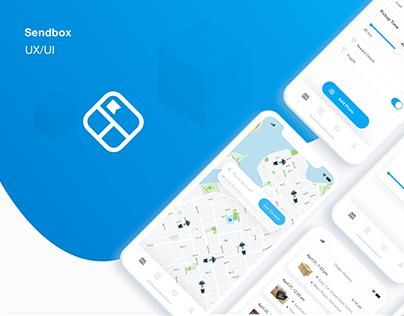 Sendbox UI Design