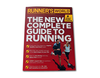 Runner's World The New Complete Guide To Running Book