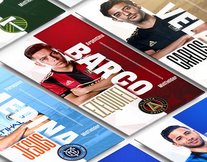 Major League Soccer Instagram Stories