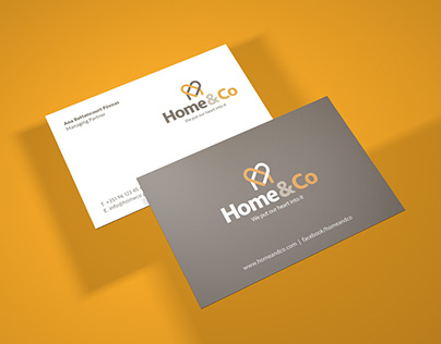Home&Co Visual Identity