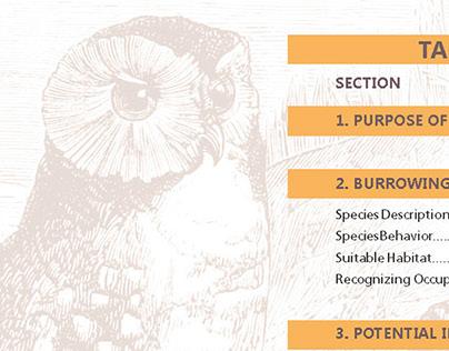 Burrowing Owl Field Manual