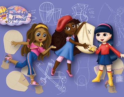 Friendship Abroad - An original doll line concept
