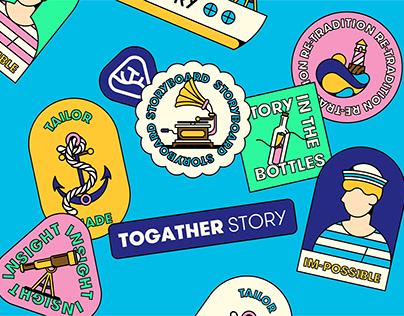 Togather Story Brand Identity Design