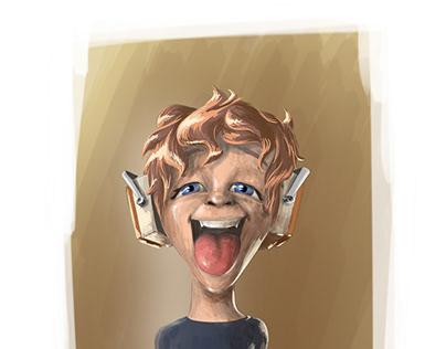 Harry's headphones