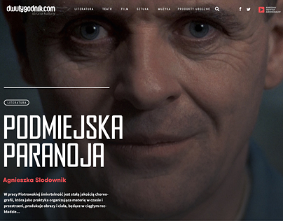 Dwutygodnik.com / Biweekly (rejected version)