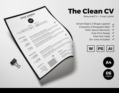 Free Resume/CV + Cover Letter