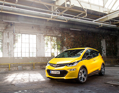 Opel Ampera E - European PR teaser campaign