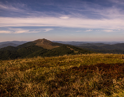 Mountains - there is all I love. Bieszczady