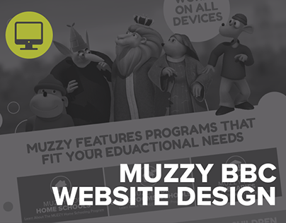 MUZZY BBC Website
