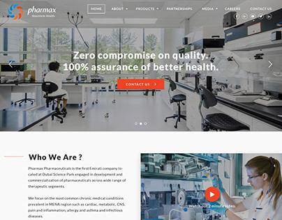 Pharmacy Webdesign