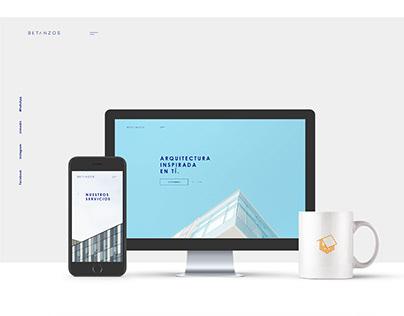 Web Betanzos Arquitectura
