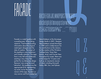 Typeface Studies Book