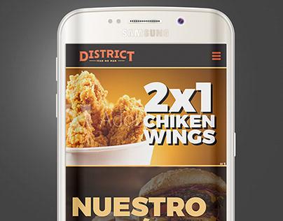 DISTRIC BAR - UX & UI for App