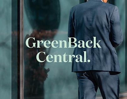 GreenBack Central.   Branding Development