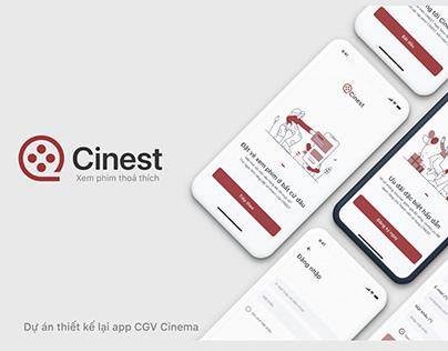 Cinest: Movie ticket booking app