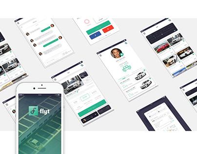 #Creation UI/UX ( FLYT )