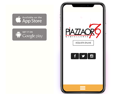 App developed for PiazzaOro