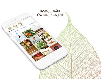 Insta дизайн @green_india_ekb