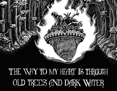 Old Trees/ Dark Water