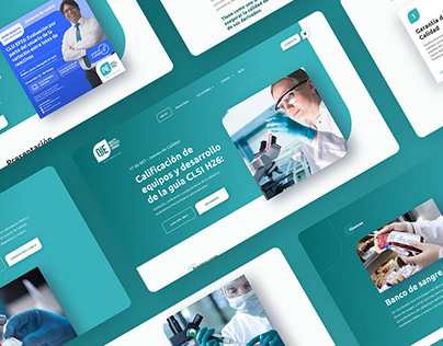 Diseño de Página Web QIE - Quality Institute Erroch