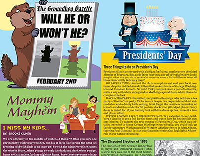 NCPN Magazine Page Examples