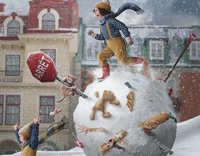 A Rogue Snowball