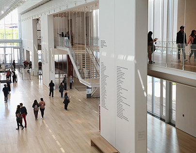 The Chicago Institute of Art -- Wayfinding Signage