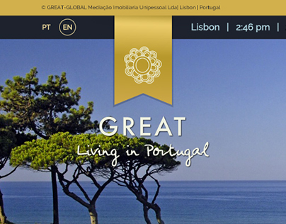 web design | Great Living in Portugal