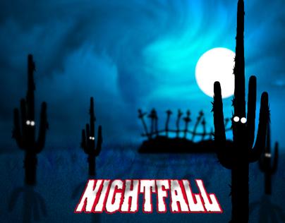 Old Tucson Studio nightfall