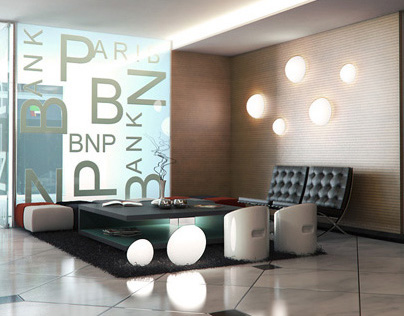 Reception/Offices interior