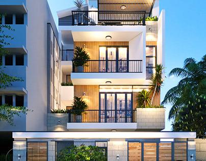Trọn bộ hồ sơ thiết kế cải tạo nhà phố 3 tầng đẹp