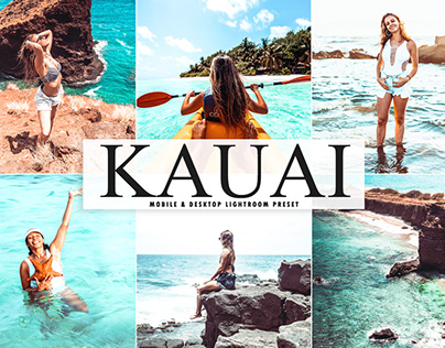 Free Kauai Mobile & Desktop Lightroom Preset