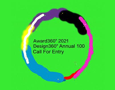 Award360° 2021 Call For Entry!!!