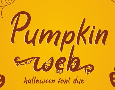 Pumpkin Web | Halloween Font